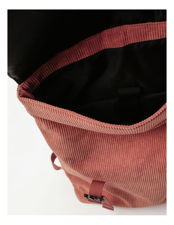 Corduroy Flap Over Backpack Bag image 4
