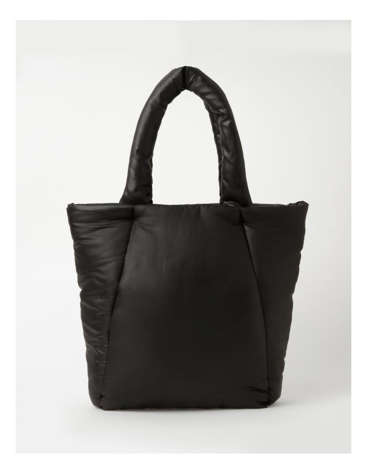 Puffer Zip Top Tote Bag image 1