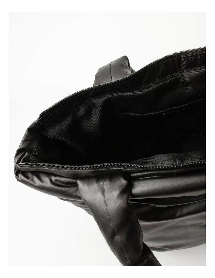 Puffer Zip Top Tote Bag image 4
