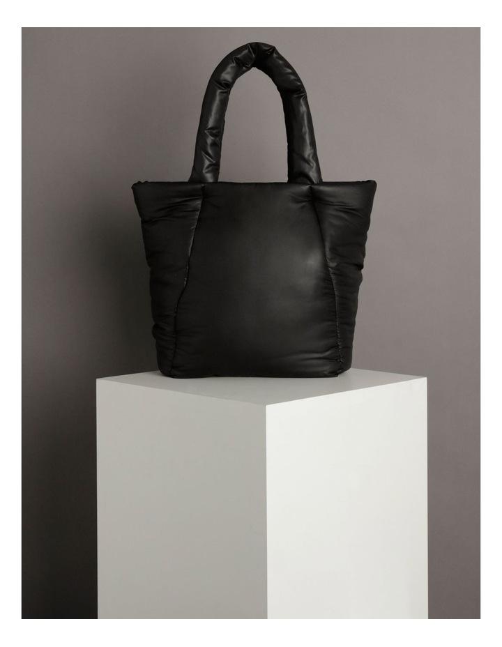 Puffer Zip Top Tote Bag image 5