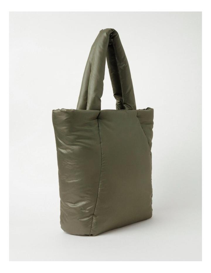 Puffer Zip Top Tote Bag image 2