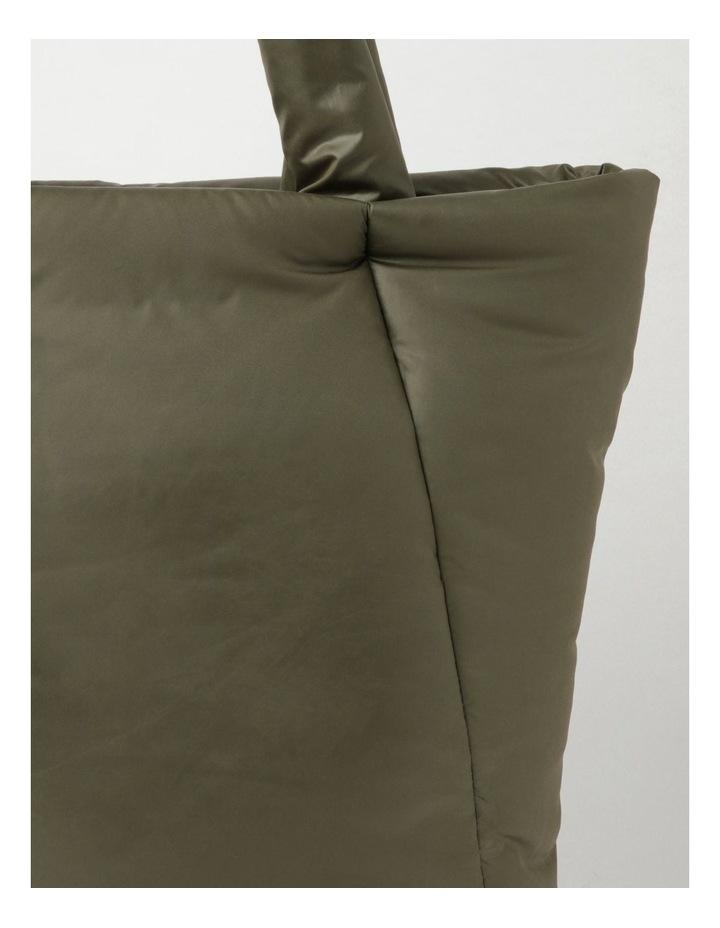Puffer Zip Top Tote Bag image 3