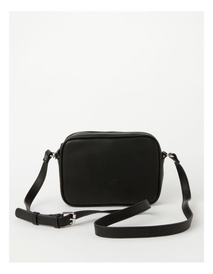 Miami Black Camera Crossbody Bag image 1