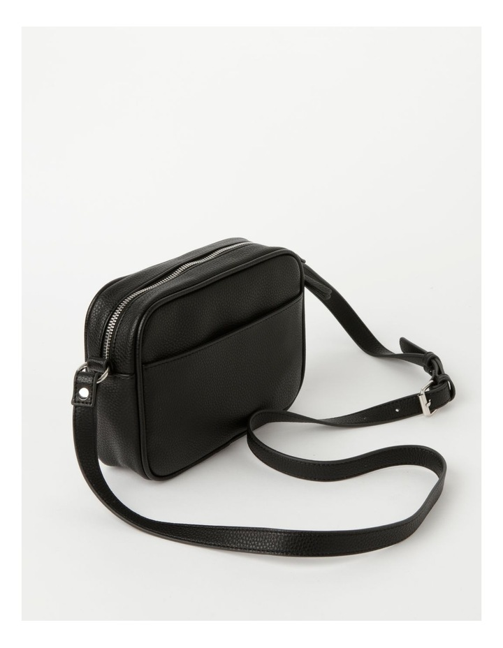 Miami Black Camera Crossbody Bag image 2