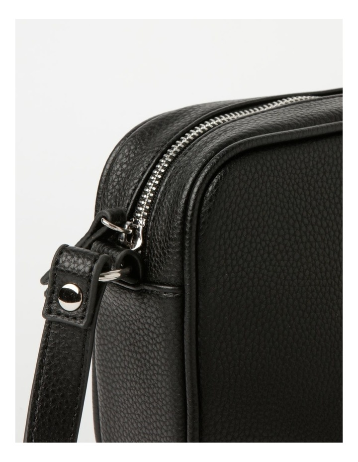 Miami Black Camera Crossbody Bag image 3