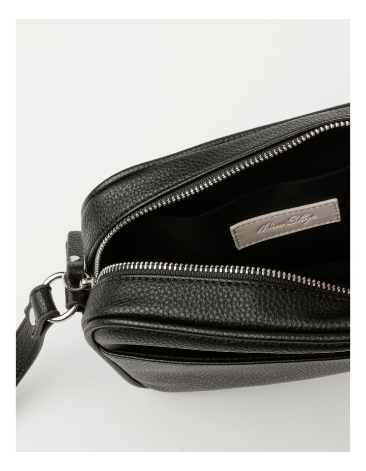 Miami Black Camera Crossbody Bag image 4