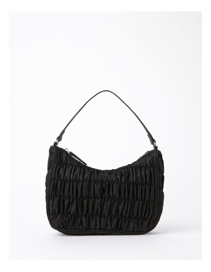 New York Black Baguette Shoulder Bag image 1