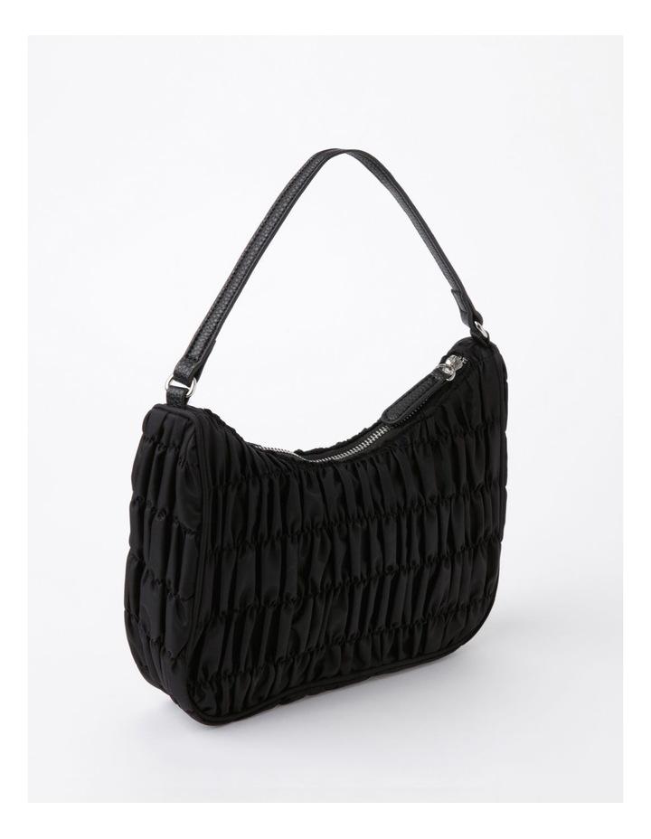 New York Black Baguette Shoulder Bag image 3