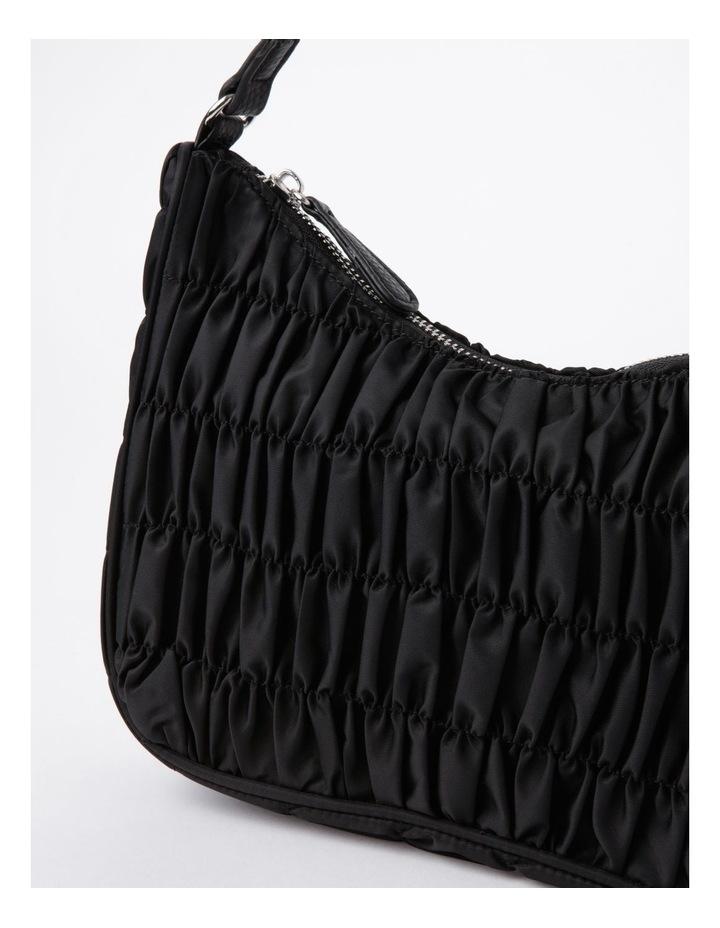New York Black Baguette Shoulder Bag image 5