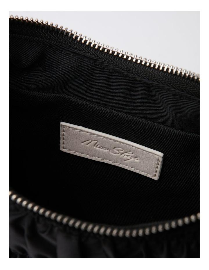 New York Black Baguette Shoulder Bag image 6