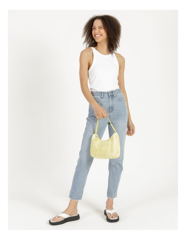 New York Lemon Baguette Shoulder Bag image 4