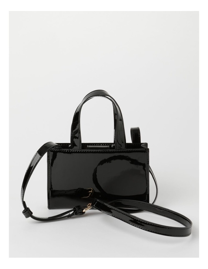 Boston Black Mini Crossbody Bag image 1