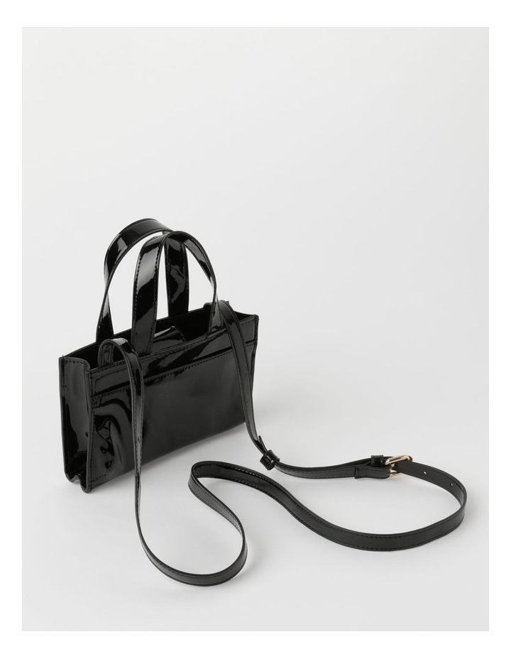 Boston Black Mini Crossbody Bag image 2