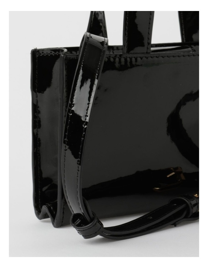 Boston Black Mini Crossbody Bag image 3