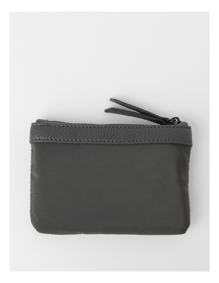 Audrey Zip-Top Charcoal Coin Purse image 2