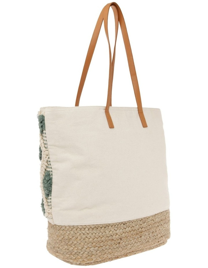 Diamond Zip Top Tote Bag image 2