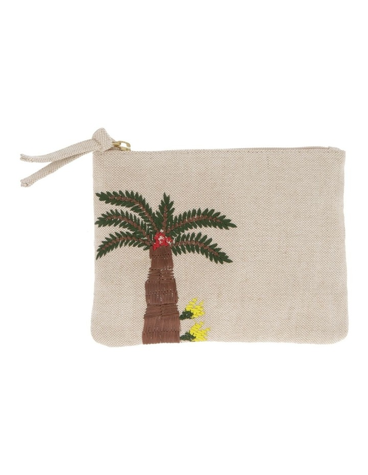 Palm Tree Sml Zip Top Pouch image 1
