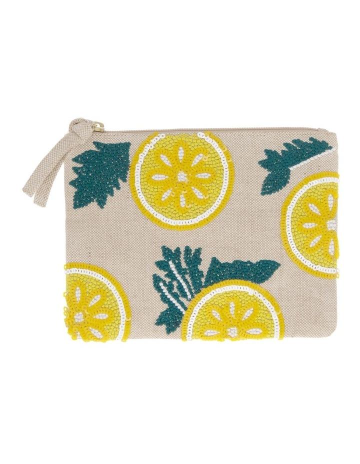 Lemon Small Zip Top Pouch image 1
