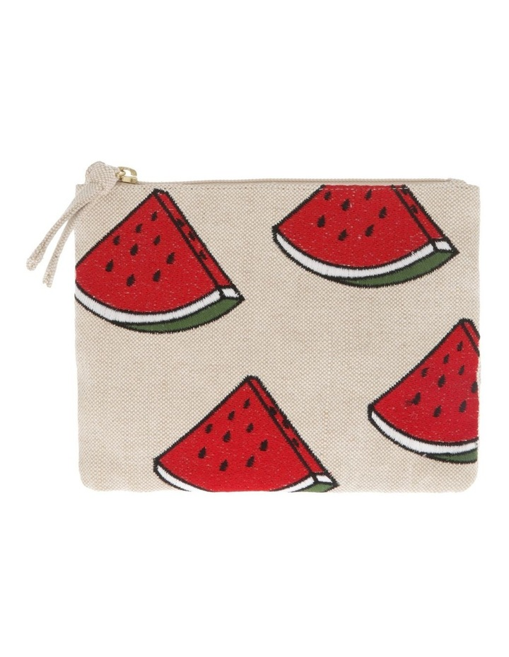 Watermelon Sml Zip Top Pouch image 1