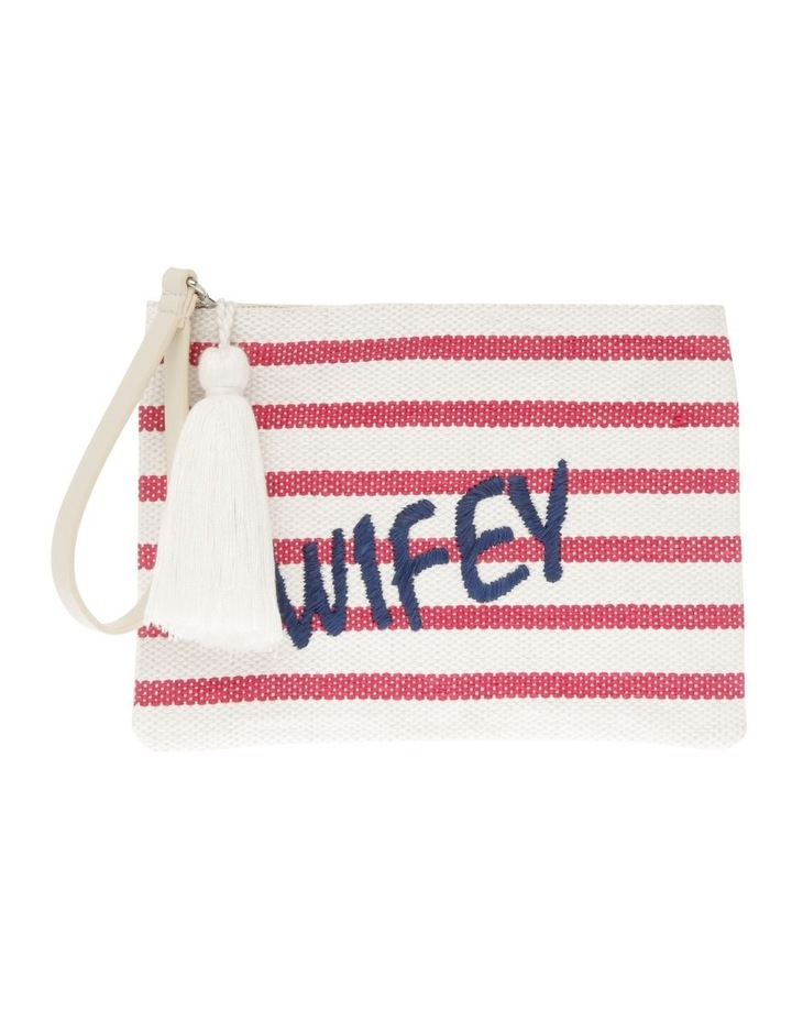Wifey Zip Top Pouch image 1