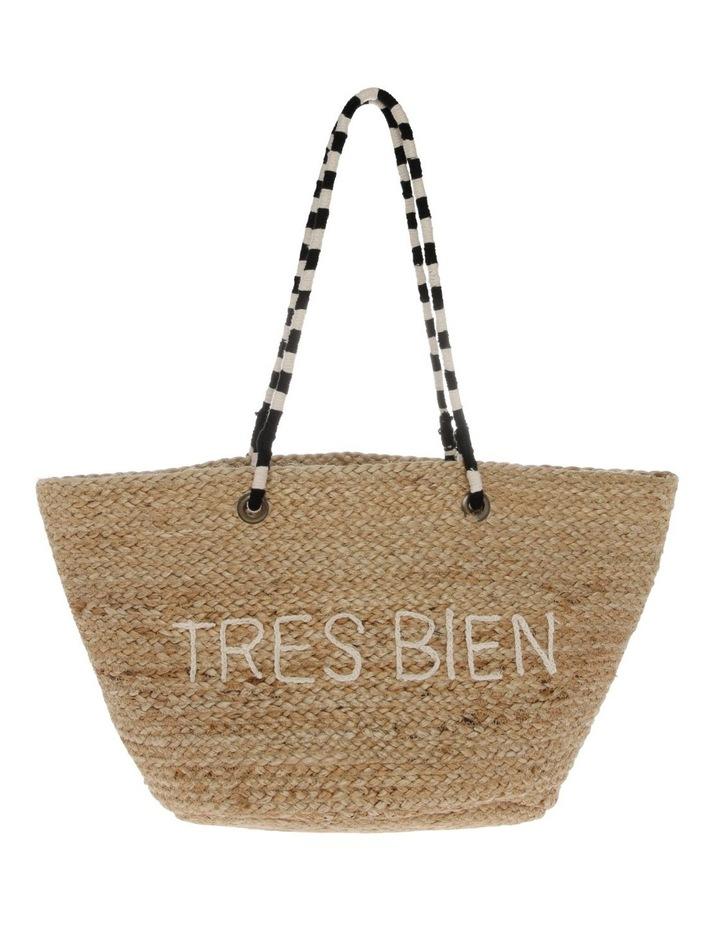 Tres Bien Double Handle Tote Bag image 1