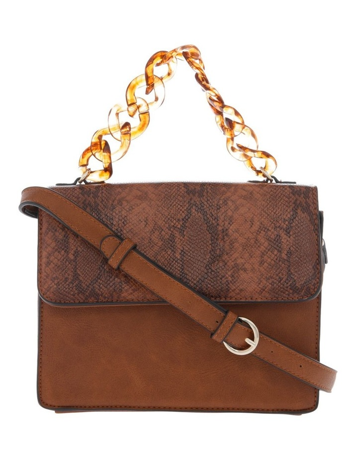 Marnie Tan Flap-Over Crossbody Bag image 1