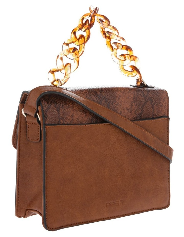 Marnie Tan Flap-Over Crossbody Bag image 2