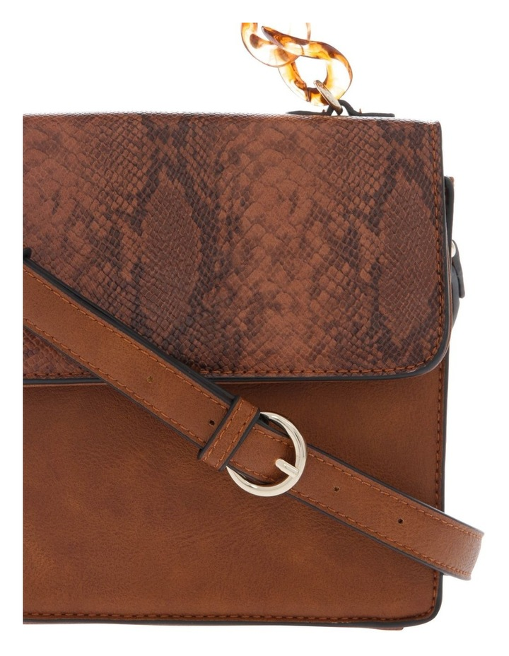 Marnie Tan Flap-Over Crossbody Bag image 3