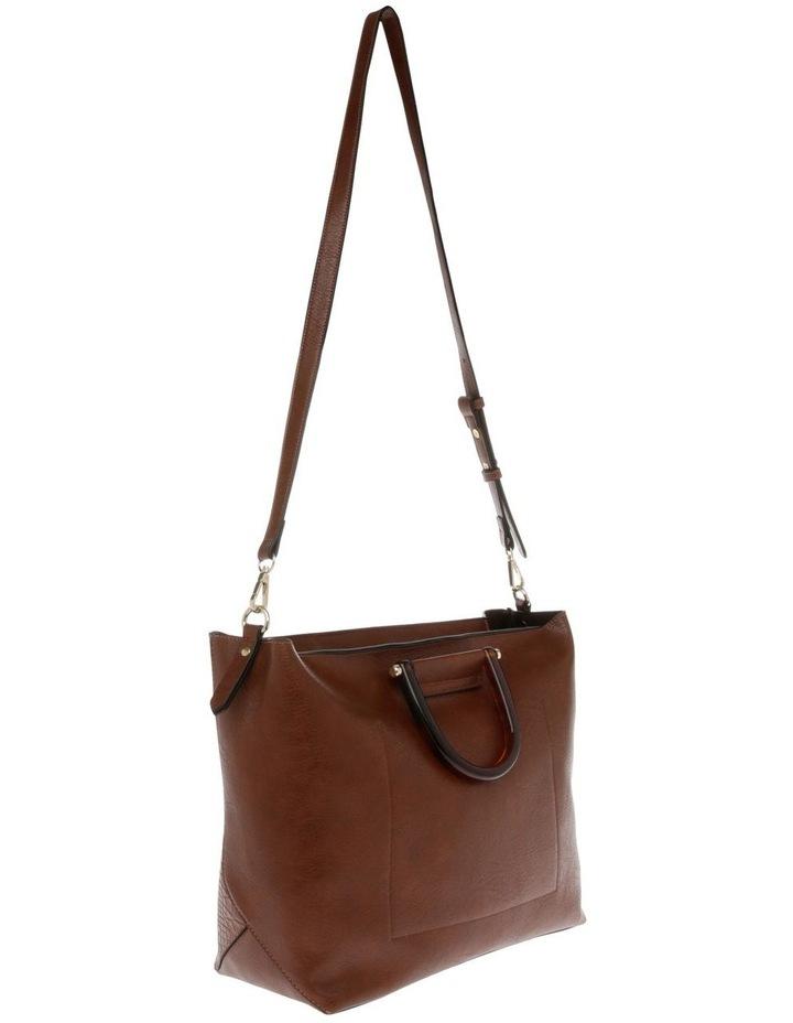 Lucy Top Handle Tan Tote Bag image 2