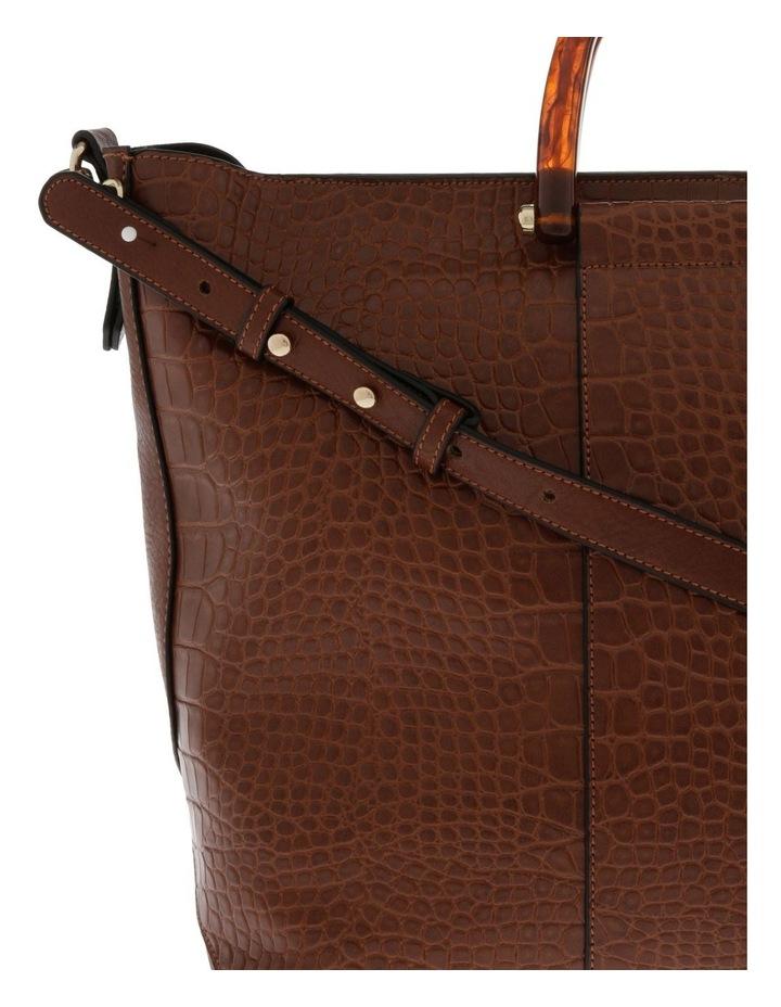 Lucy Top Handle Tan Tote Bag image 3