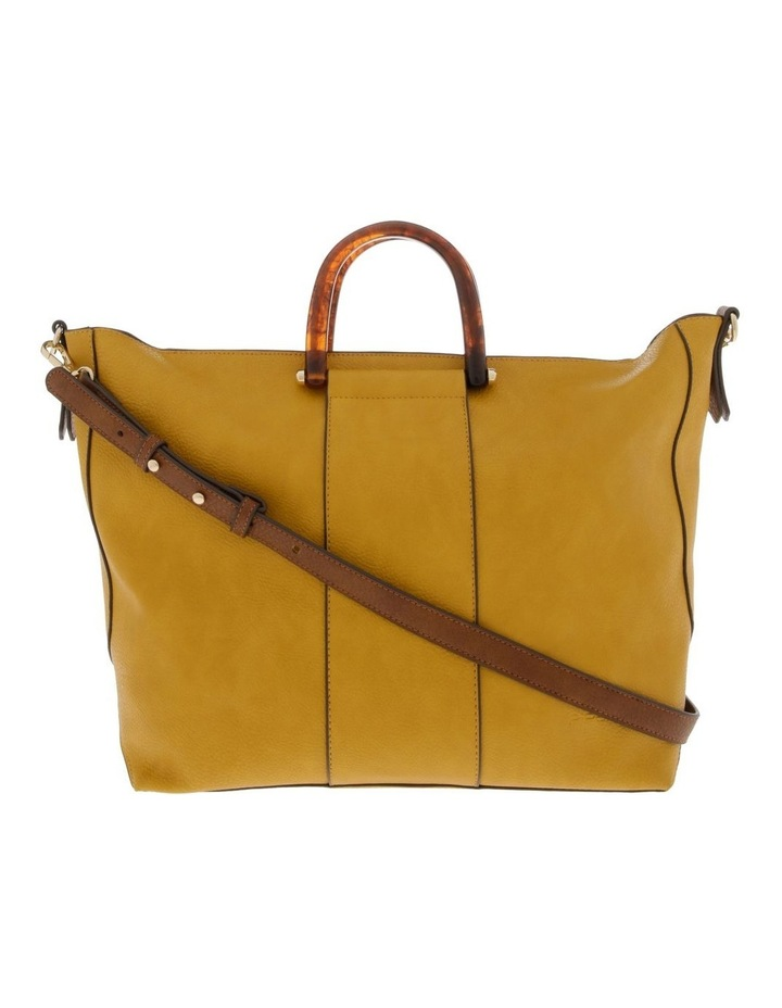 Lucy Top Handle Yellow Tote Bag image 1