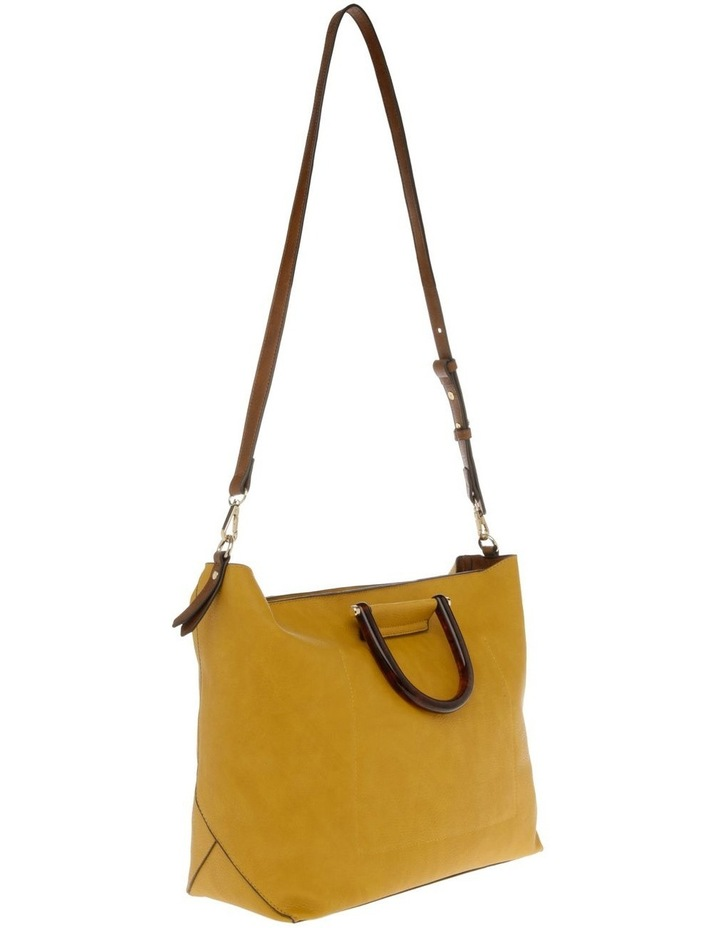 Lucy Top Handle Yellow Tote Bag image 2