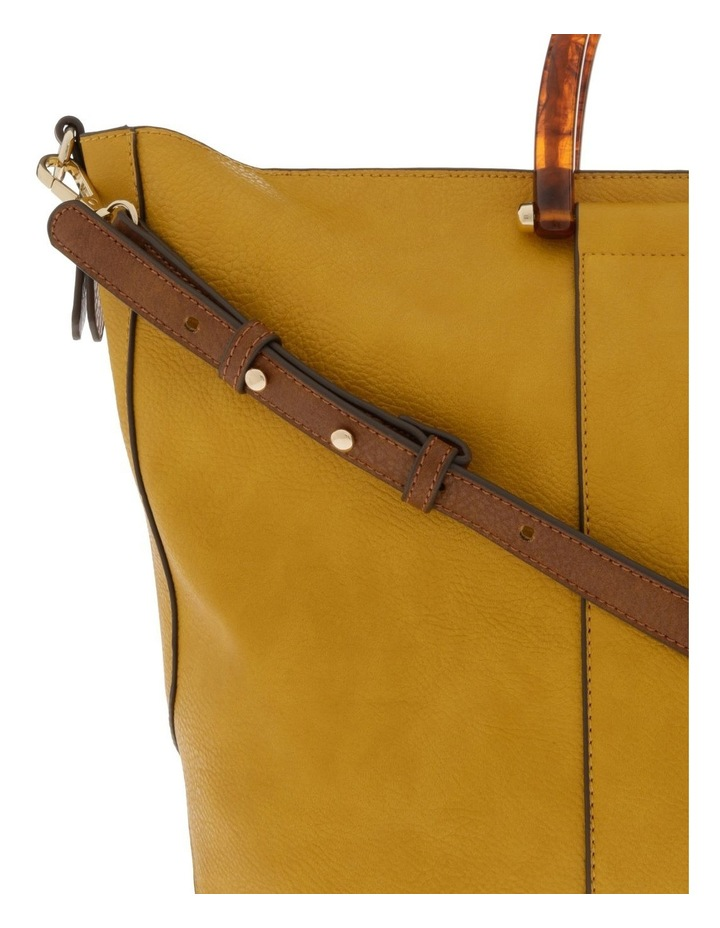 Lucy Top Handle Yellow Tote Bag image 3