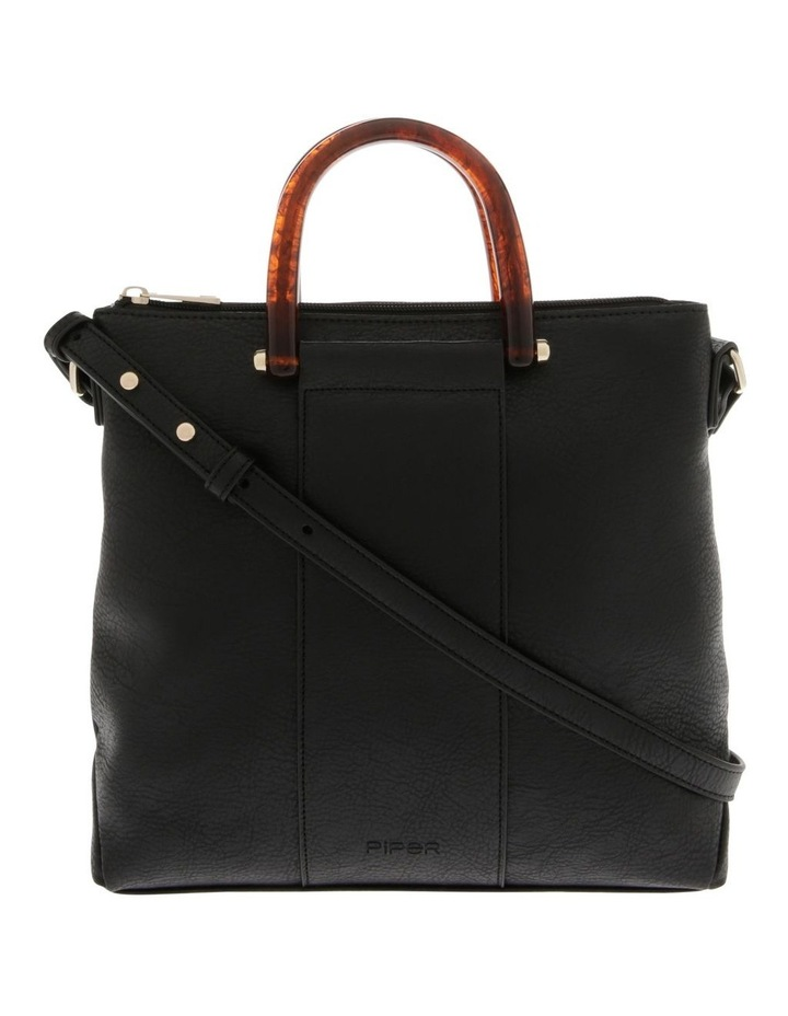 Lucy Top Handle Black Crossbody Bag image 1