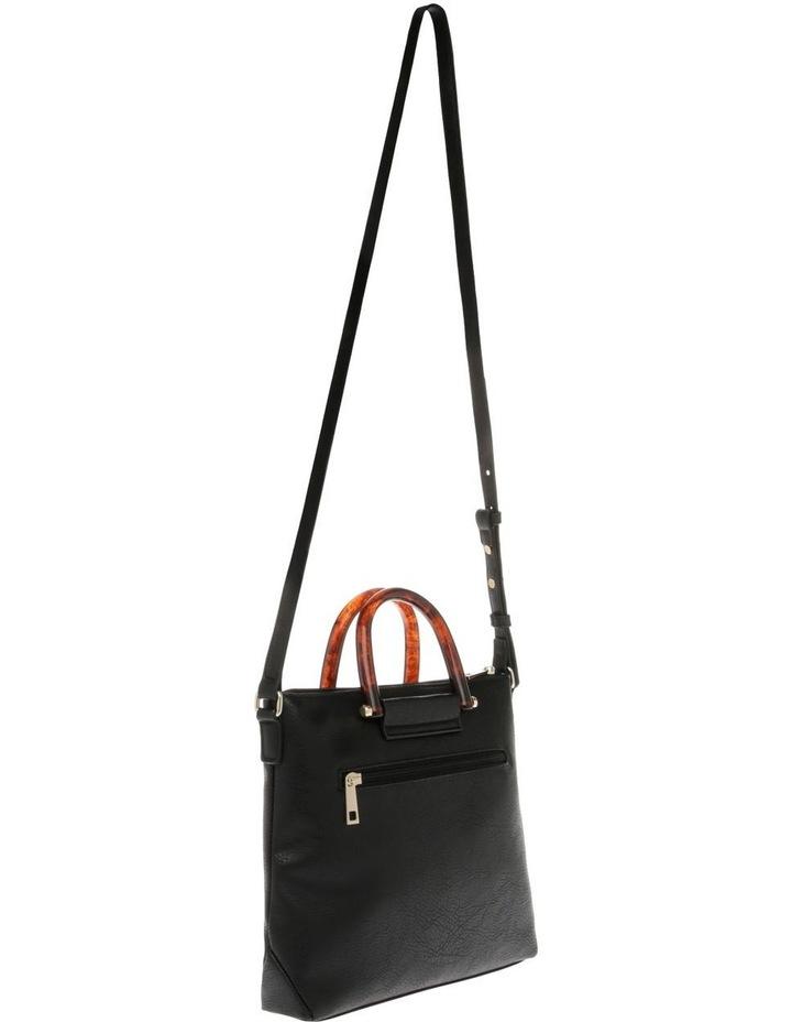 Lucy Top Handle Black Crossbody Bag image 2