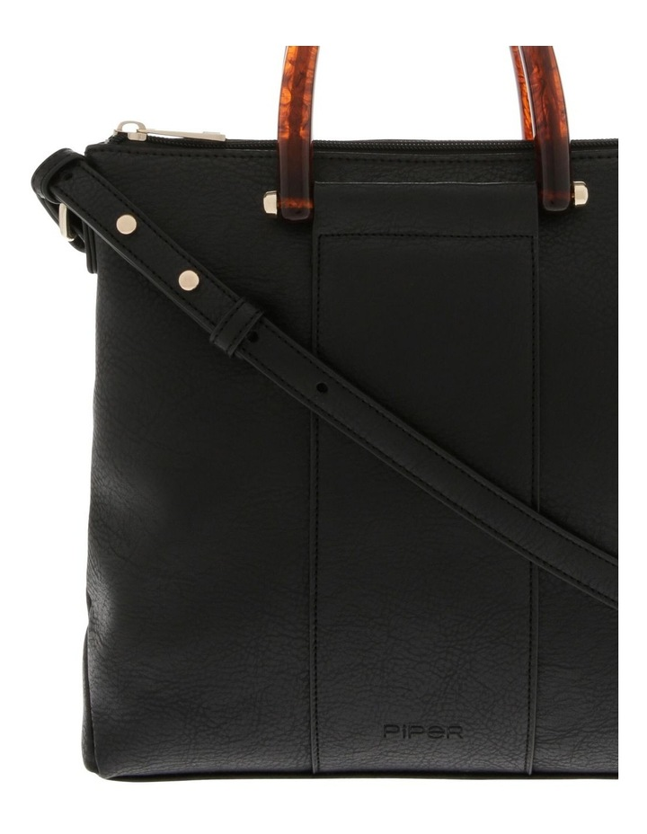 Lucy Top Handle Black Crossbody Bag image 3