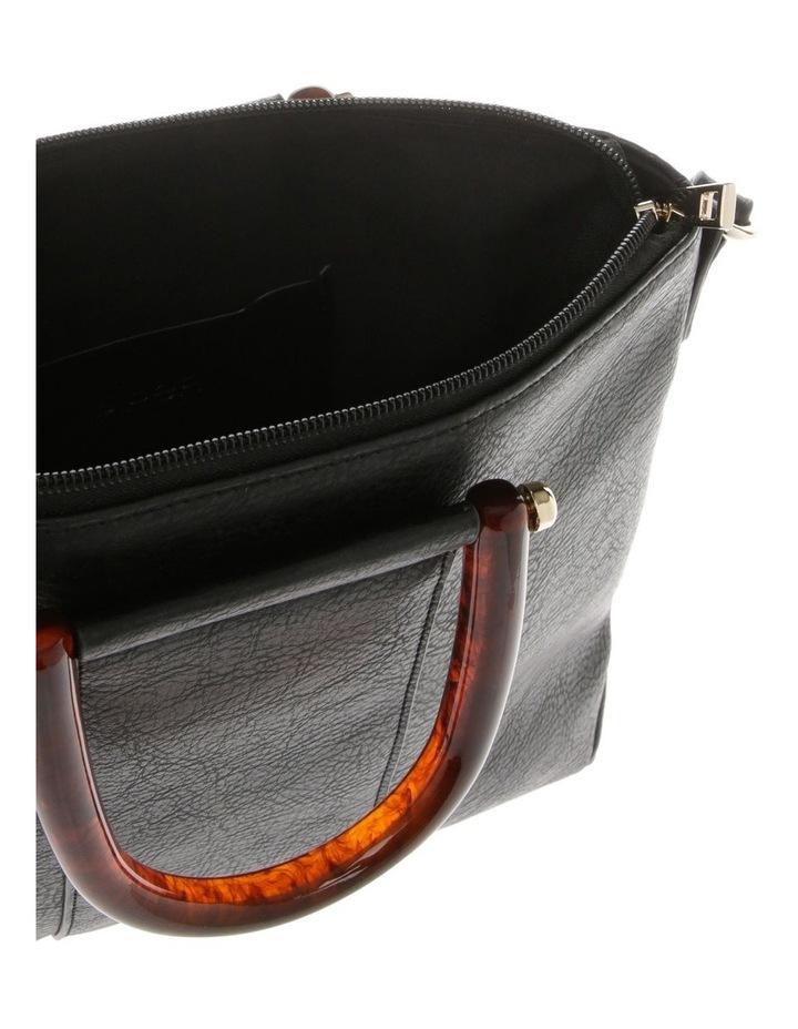 Lucy Top Handle Black Crossbody Bag image 4