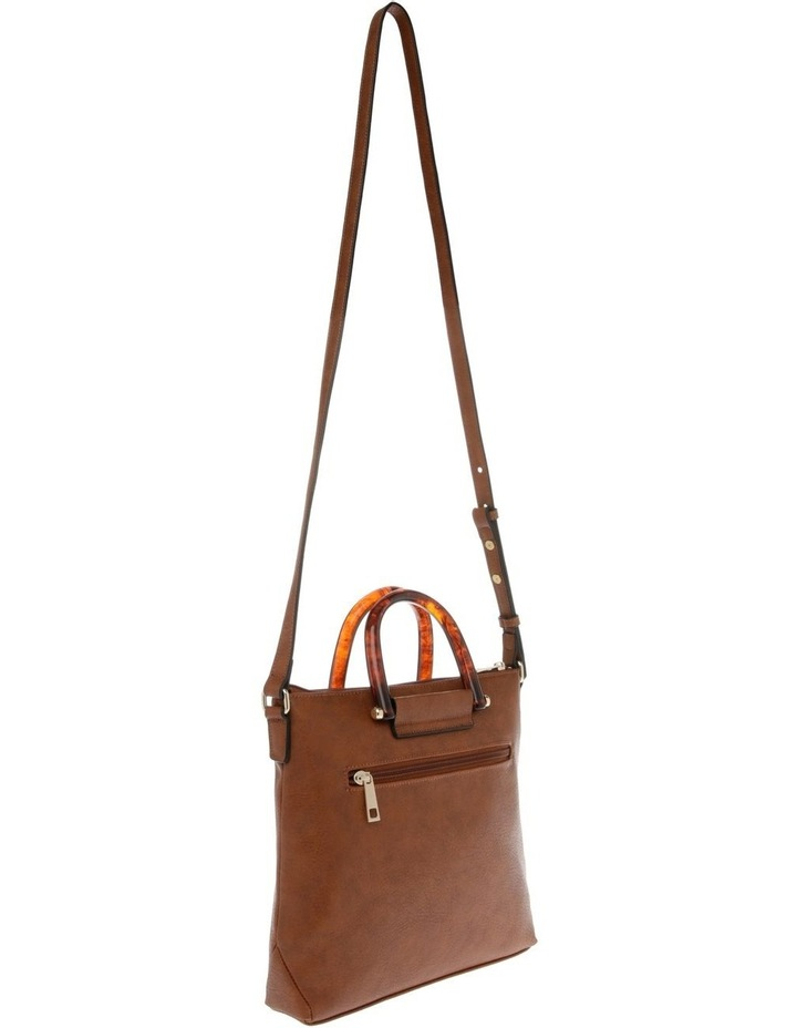 Lucy Top Handle Tan Crossbody Bag image 2
