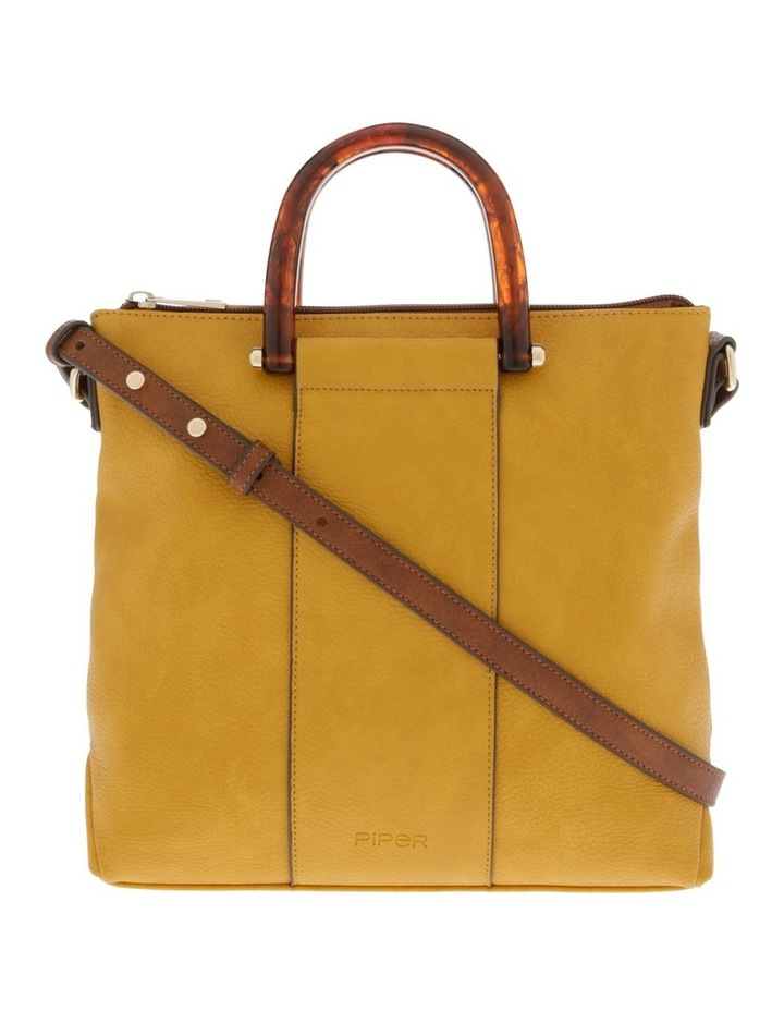 Lucy Top Handle Yellow Crossbody Bag image 1