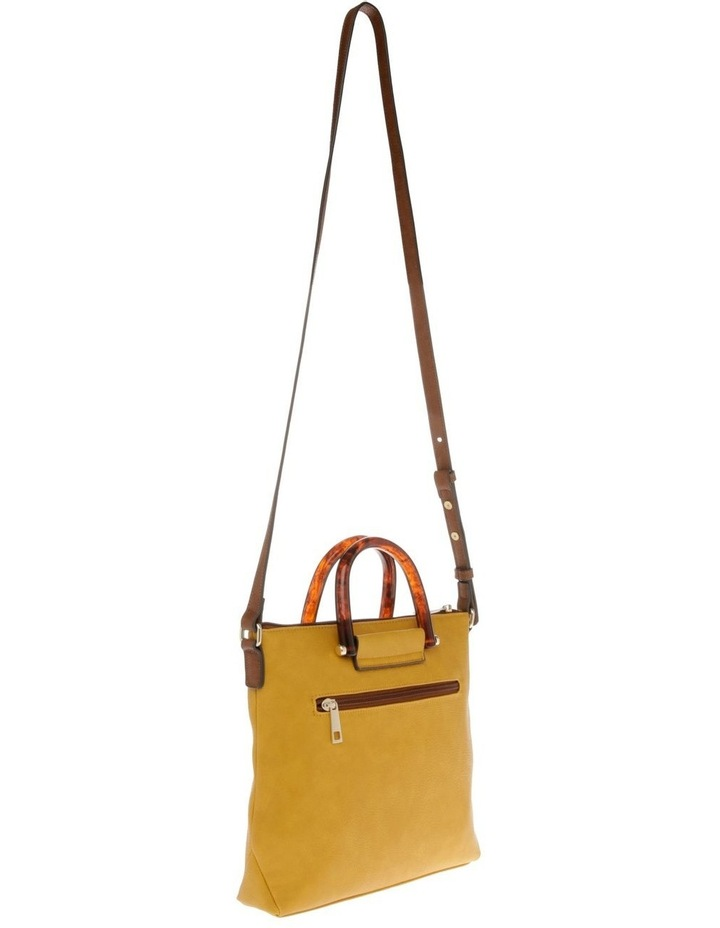 Lucy Top Handle Yellow Crossbody Bag image 2