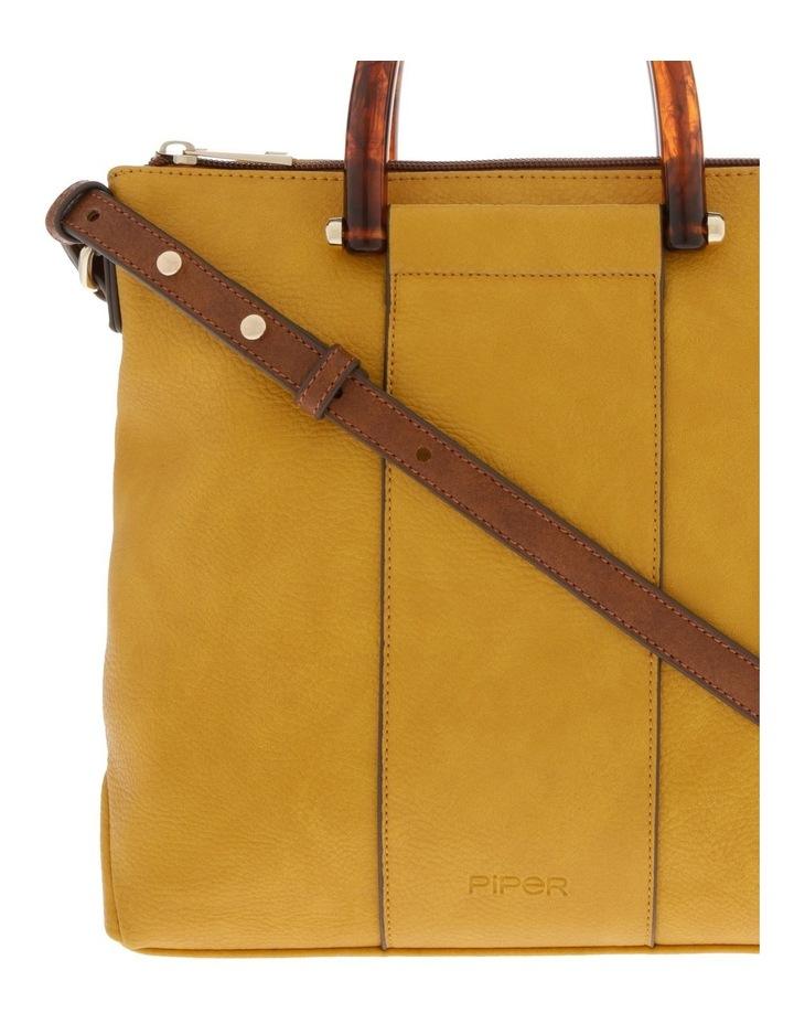 Lucy Top Handle Yellow Crossbody Bag image 3