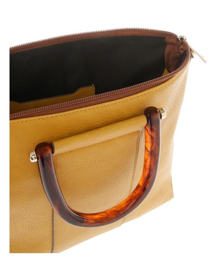 Lucy Top Handle Yellow Crossbody Bag image 4