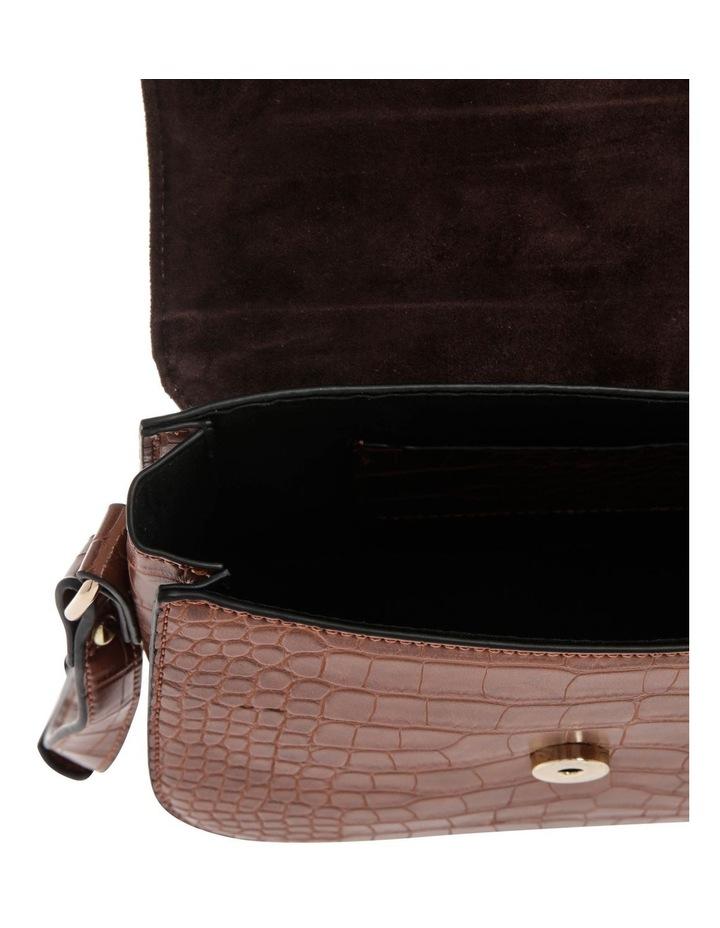 Bronte Flap Over Tan Crossbody Bag image 4