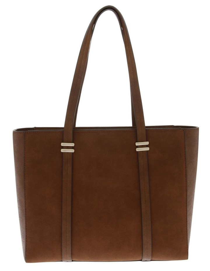 Shannon Double Handle Tan Tote Bag image 1