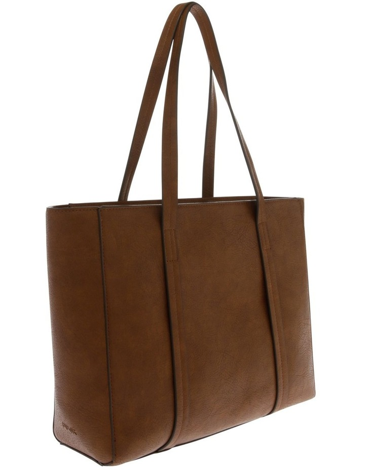 Shannon Double Handle Tan Tote Bag image 2