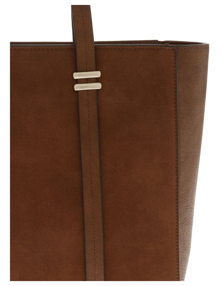 Shannon Double Handle Tan Tote Bag image 3