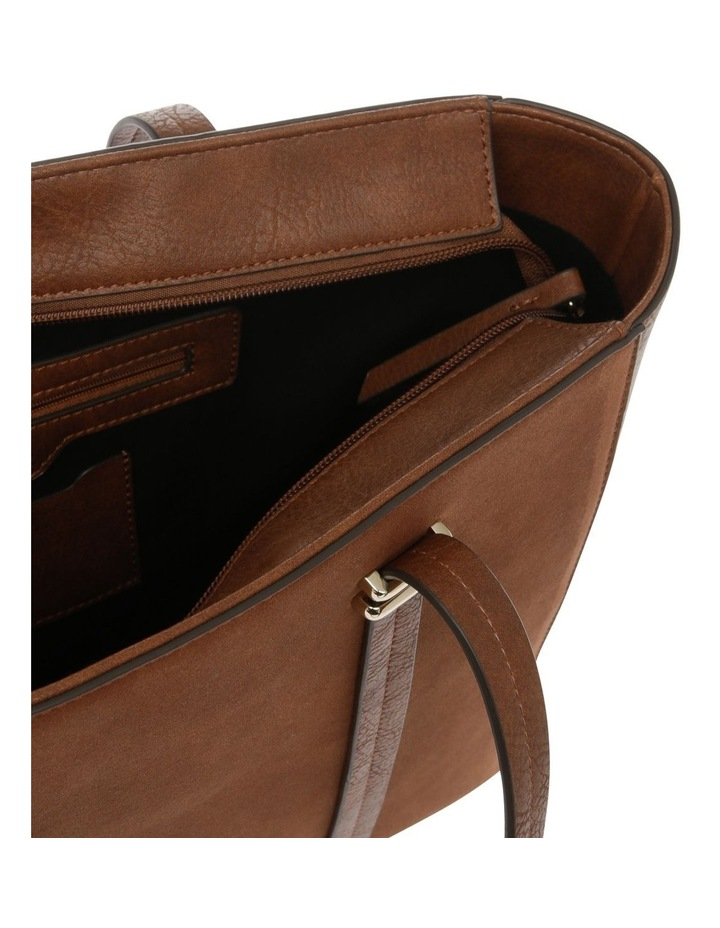 Shannon Double Handle Tan Tote Bag image 4