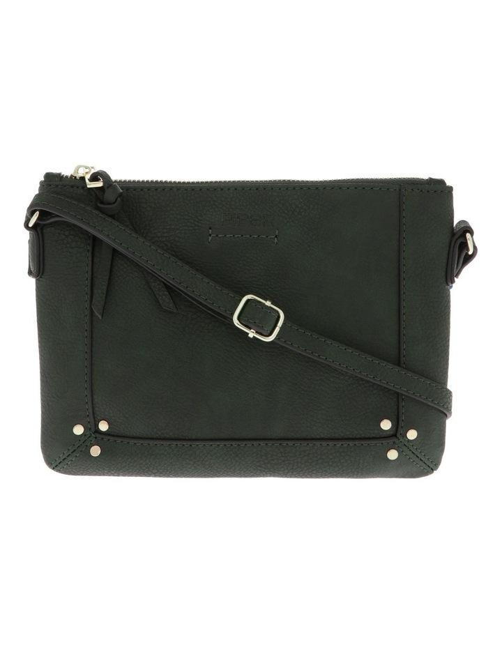Becca Zip-Top Green Crossbody Bag image 1