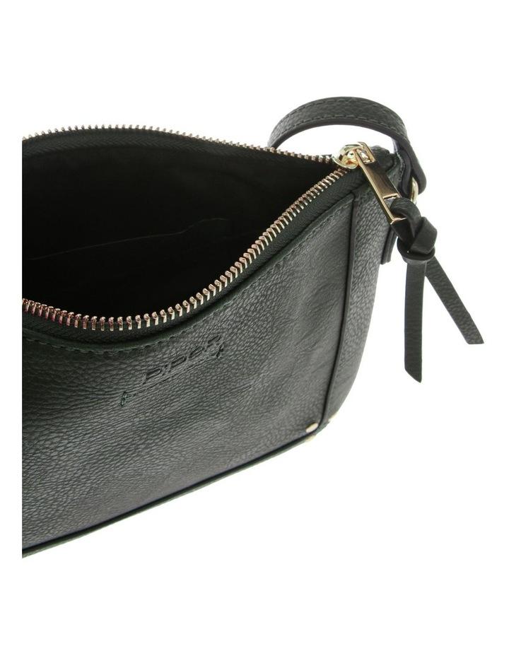 Becca Zip-Top Green Crossbody Bag image 4