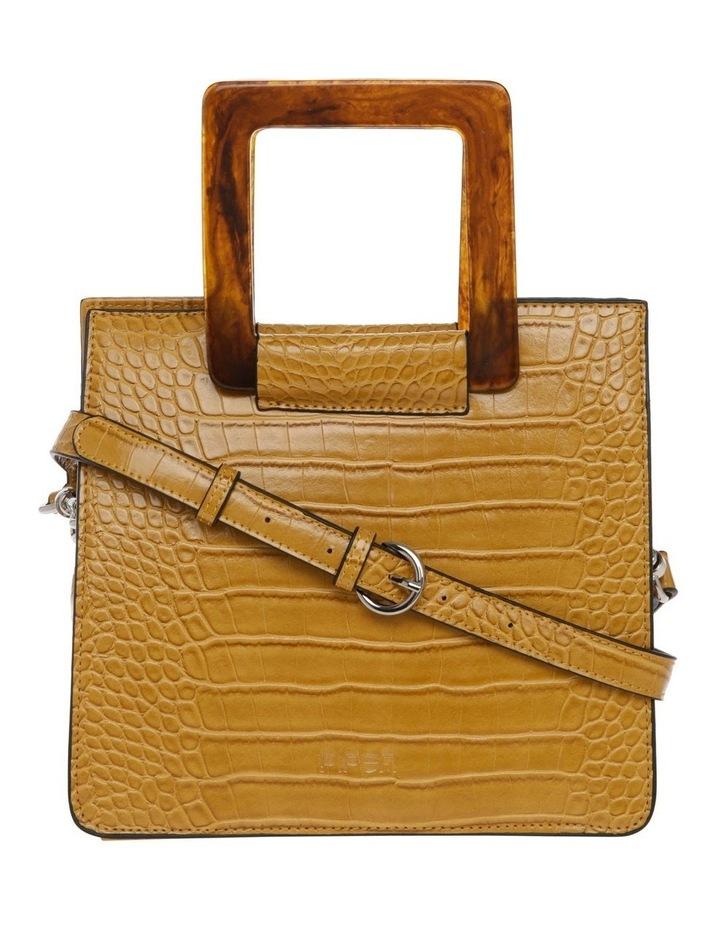Eva Top Handle Yellow Crossbody Bag image 1